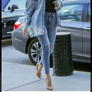Good American Good Legs Stonewash Skinny Jeans 12